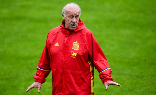 Rediff Sports - Cricket, Indian hockey, Tennis, Football, Chess, Golf - No regrets for Vicente del Bosque as he leaves Spain post
