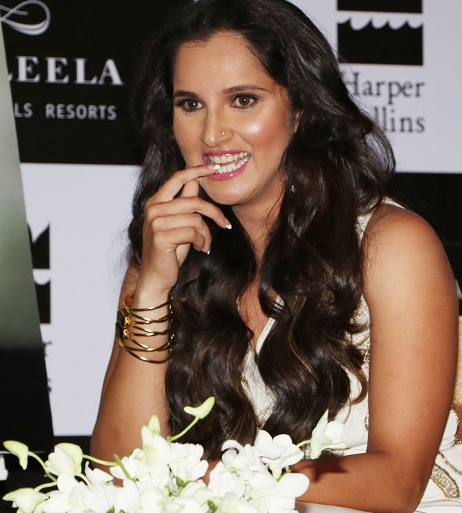 Rediff Sports - Cricket, Indian hockey, Tennis, Football, Chess, Golf - Did Sania Mirza regret ending her singles career early?