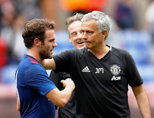 Rediff Sports - Cricket, Indian hockey, Tennis, Football, Chess, Golf - Mata is a good player and he has space in the United squad: Mou