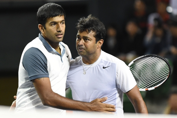 Rediff Sports - Cricket, Indian hockey, Tennis, Football, Chess, Golf - Paes in Davis Cup team, but will Bhupathi pick him in final 4?