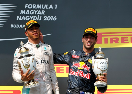 Rediff Sports - Cricket, Indian hockey, Tennis, Football, Chess, Golf - Hungarian Grand Prix: Lewis Hamilton wins to take overall lead