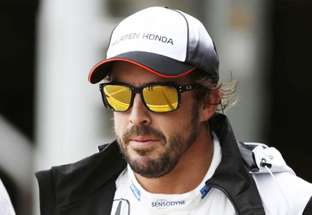 Rediff Sports - Cricket, Indian hockey, Tennis, Football, Chess, Golf - Alonso gets real about podium finish this season