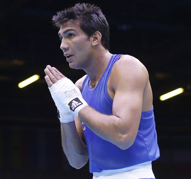 Rediff Sports - Cricket, Indian hockey, Tennis, Football, Chess, Golf - No promotion, no sponsors but boxer Manoj keeps punching