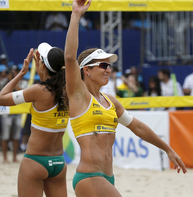 Rediff Sports - Cricket, Indian hockey, Tennis, Football, Chess, Golf - Brazil hope to kick sand in US face