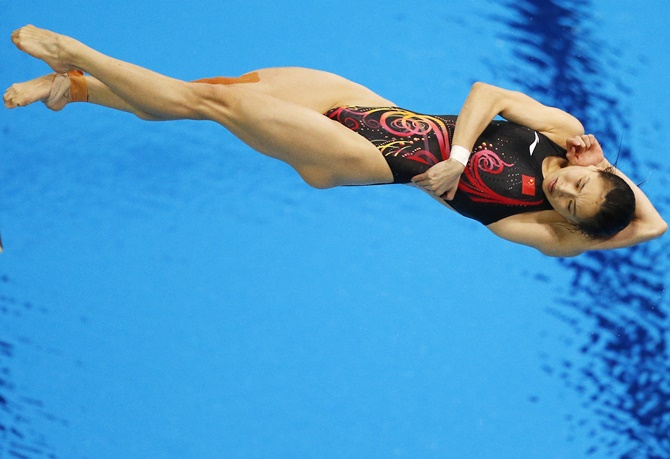 Rediff Sports - Cricket, Indian hockey, Tennis, Football, Chess, Golf - Will China's Wu become the most decorated female Olympic diver?