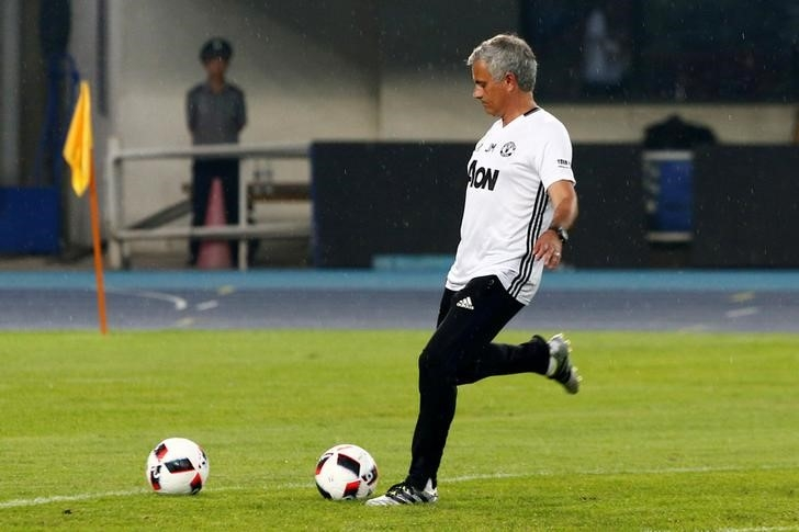 Rediff Sports - Cricket, Indian hockey, Tennis, Football, Chess, Golf - Mourinho hopes to avoid injuries on poor pitch in China