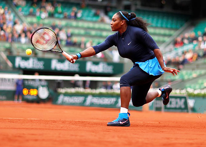 Rediff Sports - Cricket, Indian hockey, Tennis, Football, Chess, Golf - Will Serena win her 22nd Major with the French Open crown?