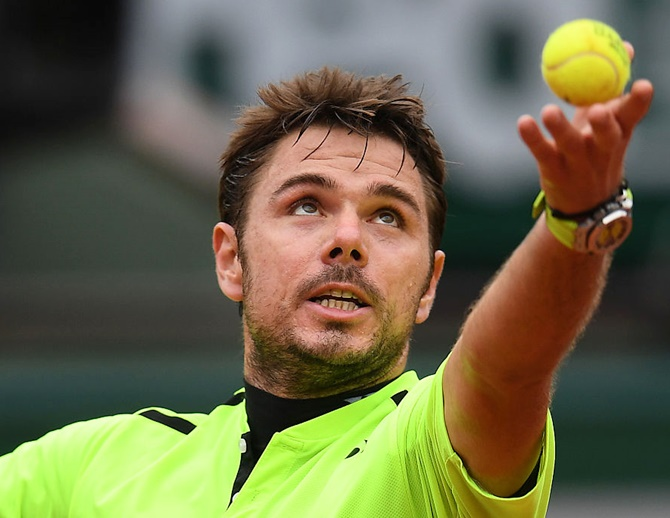 Rediff Sports - Cricket, Indian hockey, Tennis, Football, Chess, Golf - Rogers Cup: Wawrinka battles past Youzhny; Monfils cruises