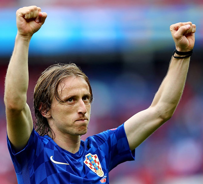 Rediff Sports - Cricket, Indian hockey, Tennis, Football, Chess, Golf - Real Madrid's Modric probed by Croatia for alleged false testimony