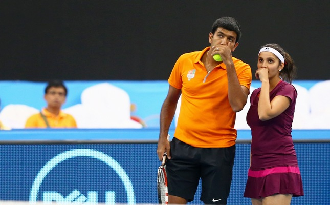 Rediff Sports - Cricket, Indian hockey, Tennis, Football, Chess, Golf - Rio Olympics: Sania-Bopanna draw Stosur-Peers in mixed doubles round 1