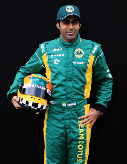 Williams F1 team name Chandhok as its heritage driver