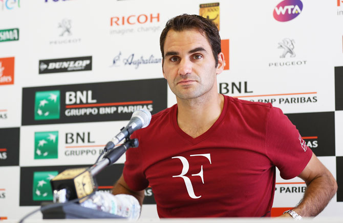 Rediff Sports - Cricket, Indian hockey, Tennis, Football, Chess, Golf - Federer ready to put 'one stupid move' behind him