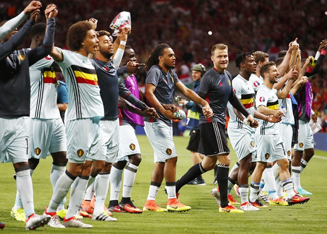 Rediff Sports - Cricket, Indian hockey, Tennis, Football, Chess, Golf - Why Belgium players don't want to talk about Euro final...