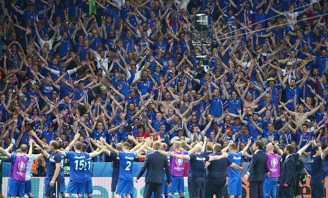 Rediff Sports - Cricket, Indian hockey, Tennis, Football, Chess, Golf - How Iceland's Cinderella story is a model for others...