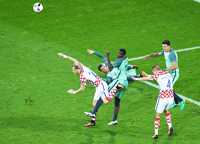 Rediff Sports - Cricket, Indian hockey, Tennis, Football, Chess, Golf - Euro 2016: Portugal and the untying of the proverbial Gordian Knot