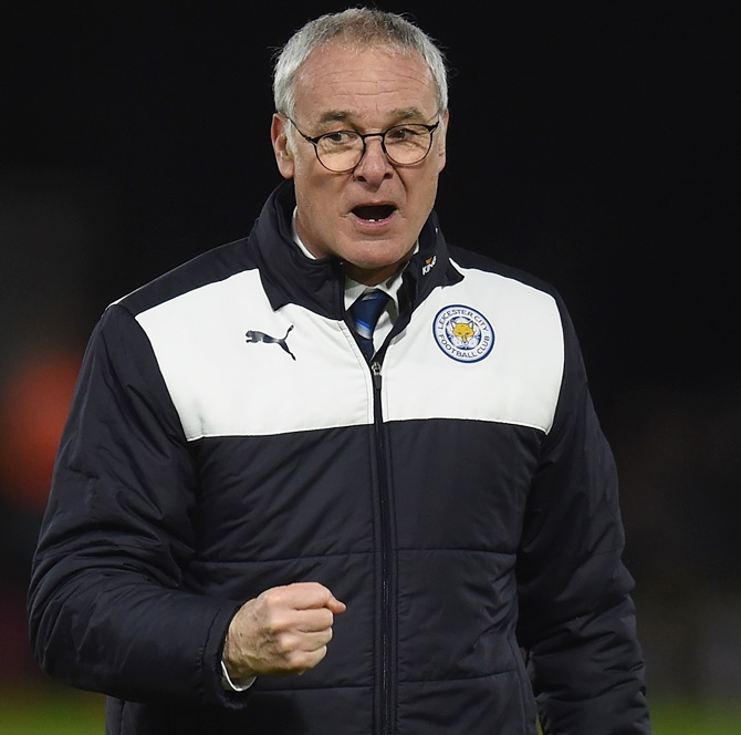 Rediff Sports - Cricket, Indian hockey, Tennis, Football, Chess, Golf - Super manager Ranieri wants to stay at Leicester