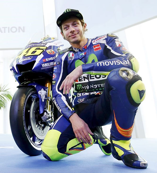 MotoGP: Valentino Rossi to race on with Yamaha until 2018 - Rediff.com Sports