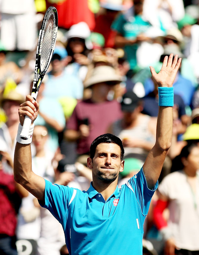 Rediff Sports - Cricket, Indian hockey, Tennis, Football, Chess, Golf - Djokovic's comments add to controversy-fuelled day in tennis