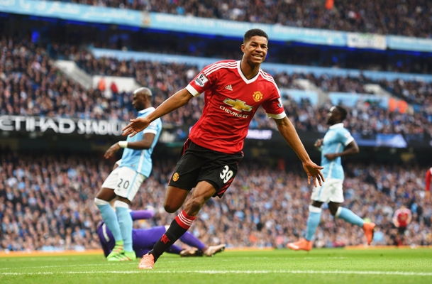 Rediff Sports - Cricket, Indian hockey, Tennis, Football, Chess, Golf - Teen Rashford signs lucrative extension deal with Manchester United