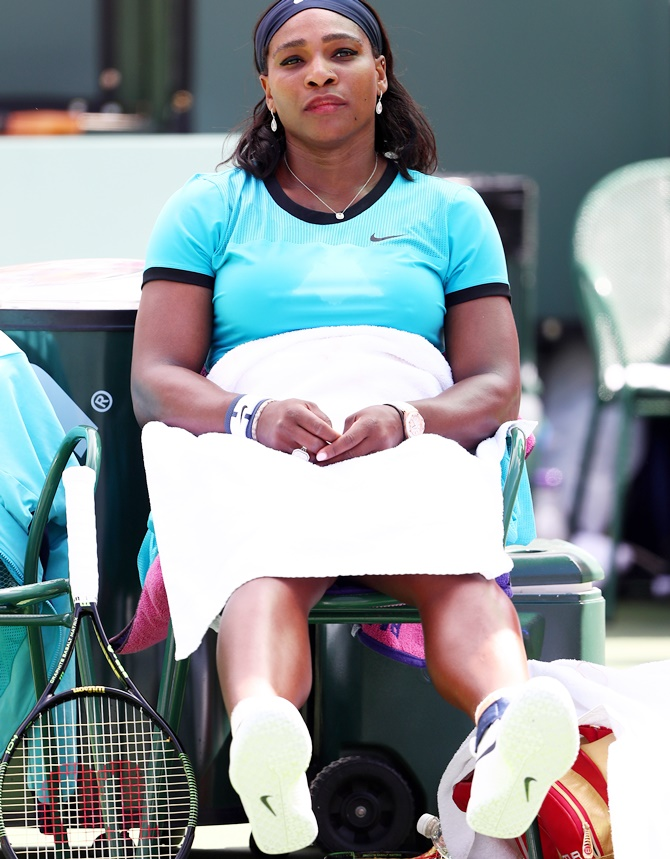 Rediff Sports - Cricket, Indian hockey, Tennis, Football, Chess, Golf - Like a boss! Serena responds to gender pay row