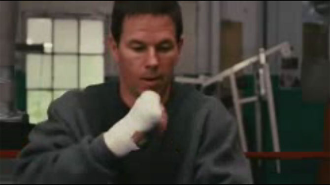 Mark Wahlburg in The Fighter
