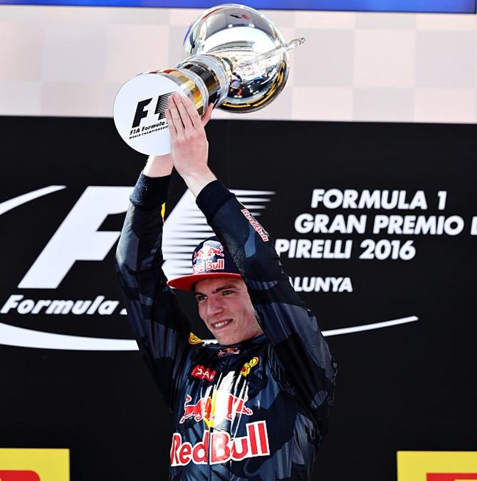 Spanish Grand Prix: Verstappen makes F1 history