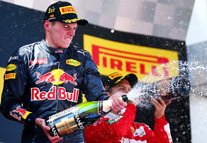 Meet Formula One's new young master Max Verstappen