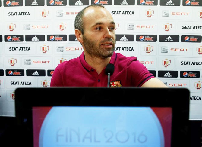 Rediff Sports - Cricket, Indian hockey, Tennis, Football, Chess, Golf - King's Cup final: Barca not taking Sevilla lightly