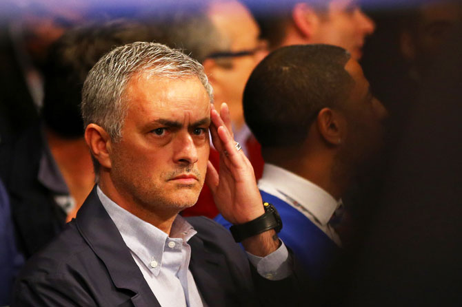 Mourinho says United lacked belief under Van Gaal