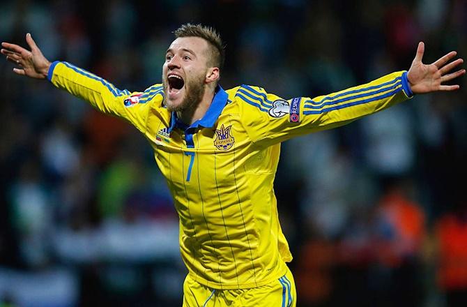 Rediff Sports - Cricket, Indian hockey, Tennis, Football, Chess, Golf - Meet Ukraine's 'new Shevchenko'