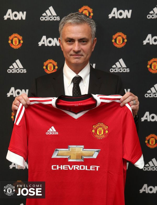 Jose Mourinho on his appointment as Manchester United manager on May 27