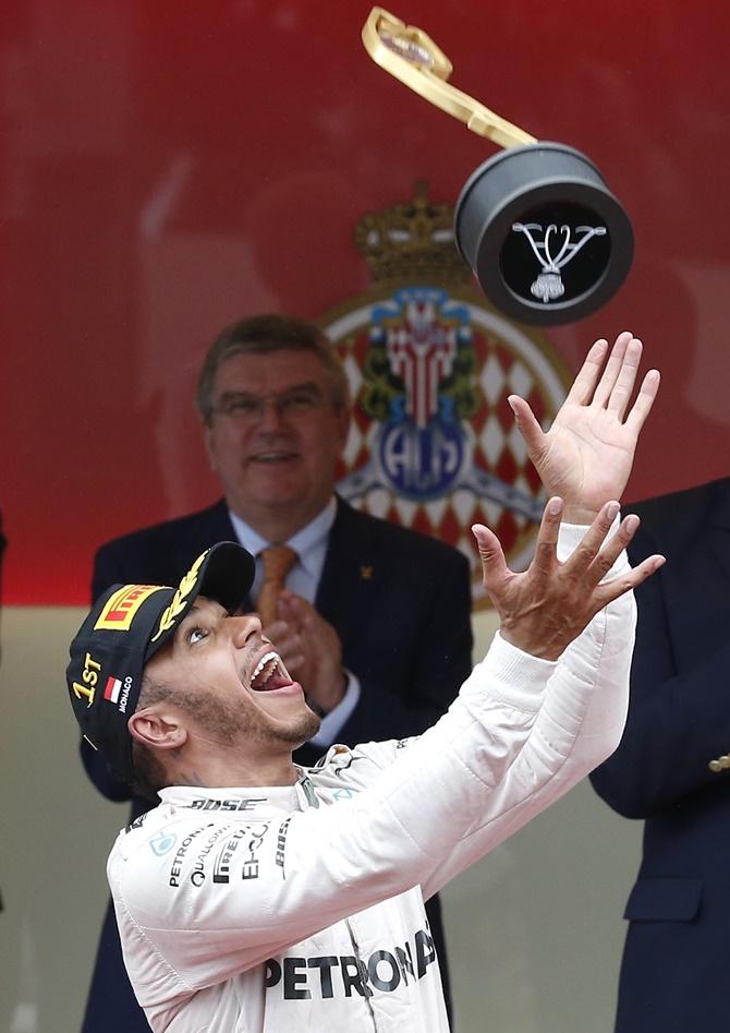 PHOTOS: Lewis Hamilton wins Monaco GP