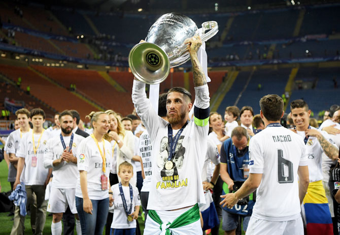 Rediff Sports - Cricket, Indian hockey, Tennis, Football, Chess, Golf - Ramos is Real hero again after turbulent year