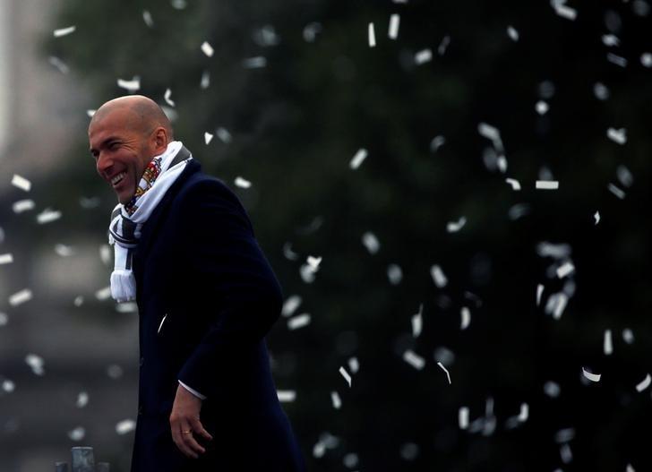 Rediff Sports - Cricket, Indian hockey, Tennis, Football, Chess, Golf - Perez hails Zidane's influence at Real Madrid