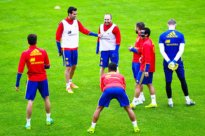 Rediff Sports - Cricket, Indian hockey, Tennis, Football, Chess, Golf - Euros: Mix of youth and experience may help Spain prove doubters wrong