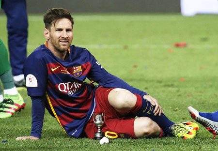 Rediff Sports - Cricket, Indian hockey, Tennis, Football, Chess, Golf - Messi misses first day of tax fraud trial