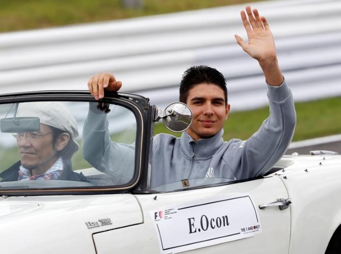 Esteban Ocon replaces Hulkenberg at Force India
