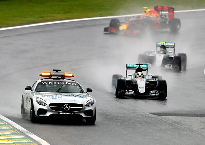 Formula One thankful for near-miss in Brazil