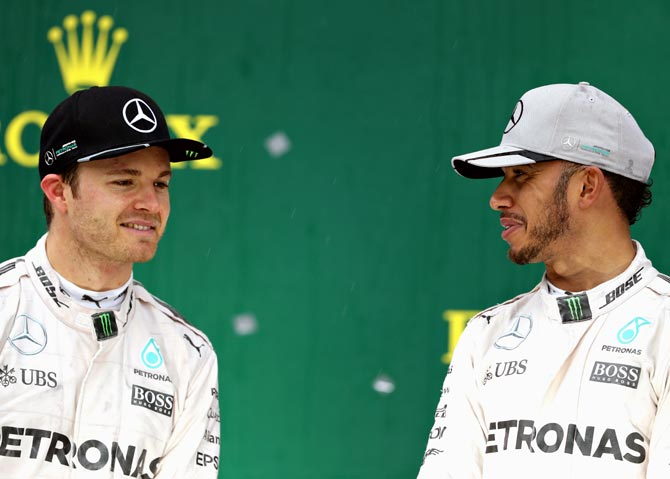 The road to the Formula One title