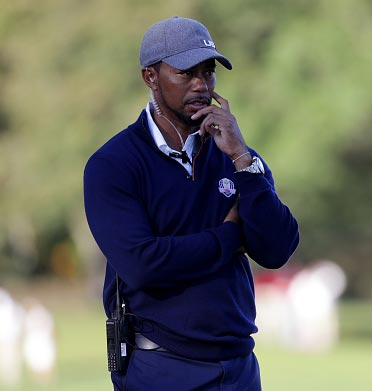 Rediff Sports - Cricket, Indian hockey, Tennis, Football, Chess, Golf - Tiger Woods drops out of two PGA Tour events due to back spasms
