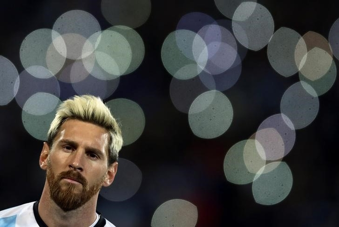 Rediff Sports - Cricket, Indian hockey, Tennis, Football, Chess, Golf - Messi injury absence threatens Argentina World Cup hopes