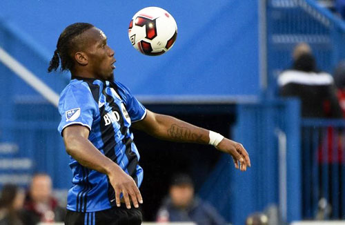 Rediff Sports - Cricket, Indian hockey, Tennis, Football, Chess, Golf - Drogba storming up a row at Montreal