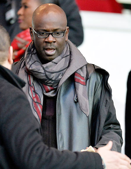 Former France footballer Lilian Thuram