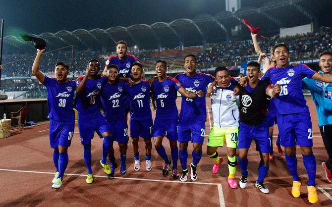 Rediff Sports - Cricket, Indian hockey, Tennis, Football, Chess, Golf - Bengaluru FC to face Jordan's Al Wehdat in ACL prelims stage 2