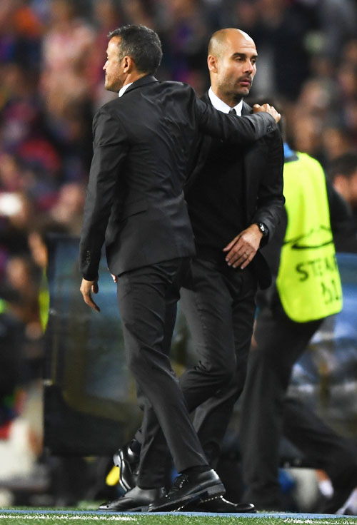 Luis Enrique tells Guardiola critics: 'He's going to win'