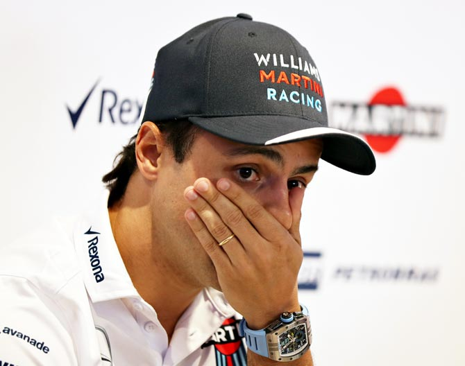 Former Ferrari driver Massa to quit at end of F1 season