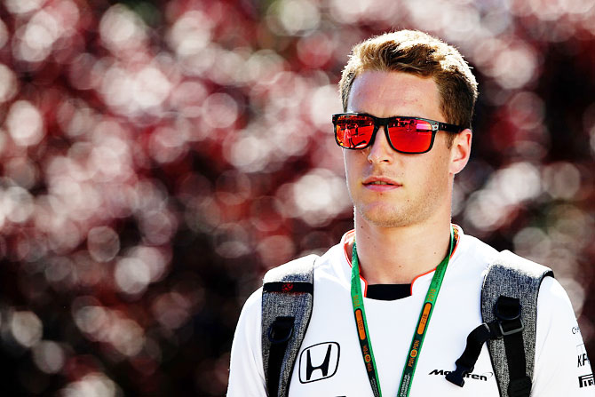 Rediff Sports - Cricket, Indian hockey, Tennis, Football, Chess, Golf - Formula One: Vandoorne faces Russian GP grid penalty