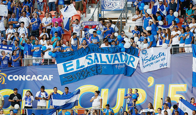 El Salvador fans during a Copa America match. (Image used for representational purposes)