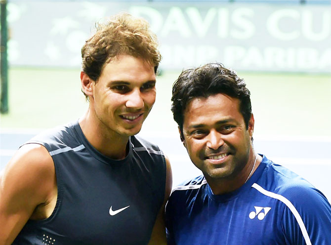 Rediff Sports - Cricket, Indian hockey, Tennis, Football, Chess, Golf - Davis Cup: Doubles team yet to be decided; fitness a concern for India
