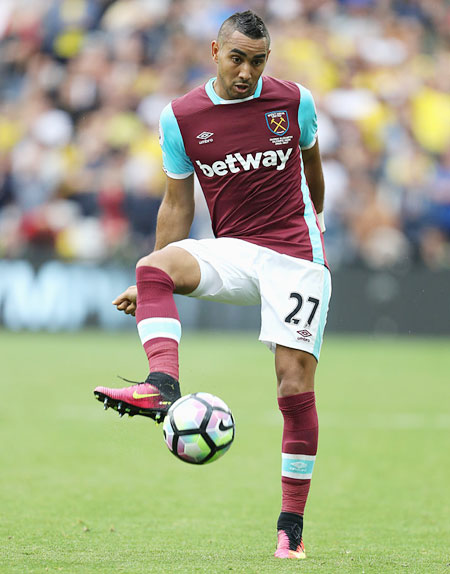 Payet showboating doesn't bother West Ham boss Bilic